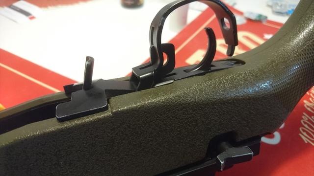 M14 socom 分解 後端フレーム外し トリガーガードパーツ