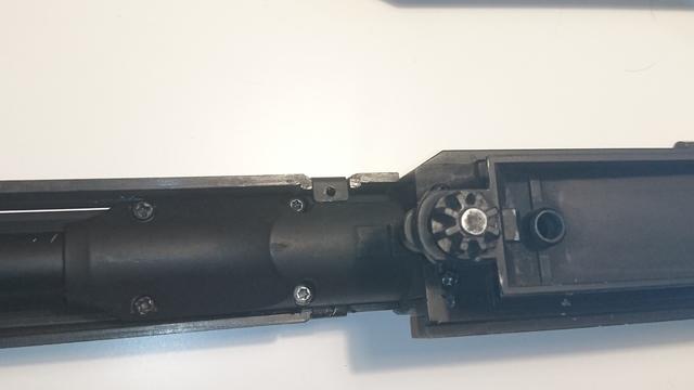 M14 socom 分解作業 パッキン交換 マズル分解 チャンバー固定パーツ